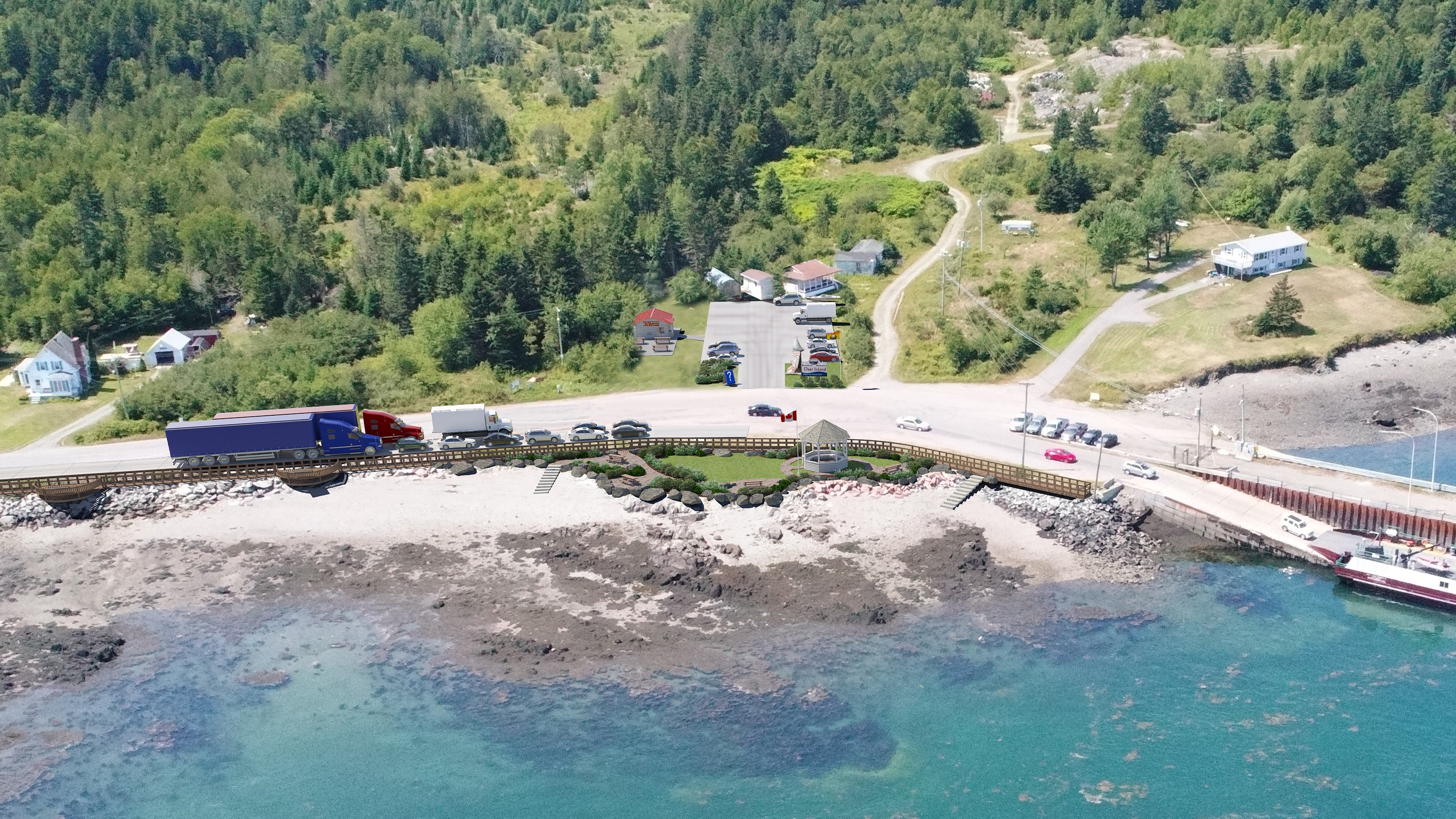 Deer Island Ferry Landing Improvements